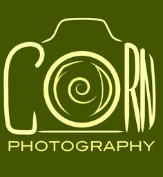 Newest logo created by Art by Clover for local Corn Fed Photography!
