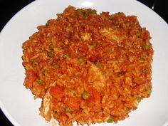 Rezept Tomatenreis mit Hühnchenstreifen von hanamontana - Rezept der Kategorie sonstige Hauptgerichte