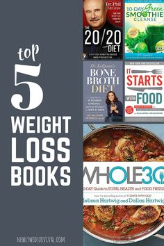 5 best-selling weight loss books - are they right for you?