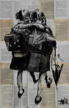 "Saatchi Art Artist Loui Jover; Drawing, ""forever"" #art"