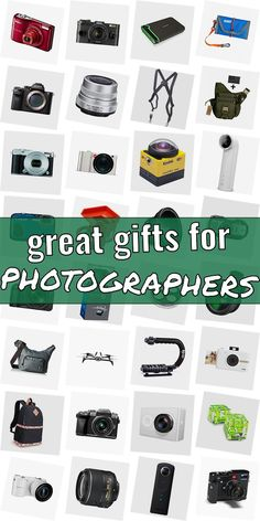 In search of a present for a photograpy lover? Get inspired! Read our huge list of presents for photograpy lovers. We have great gift ideas for photographers which are going to make them happy. Buying gifts for photography lovers does not need to be hard. And dont have to be costly. #greatgiftsforphotographers