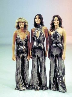 Charlie's Angels - Farrah Fawcett, Kate Jackso, and Jaclyn Smith.....Oh yeah!!!