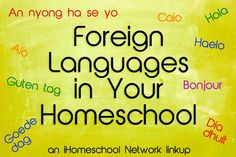 Foreign Language for homeschool