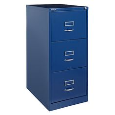 Charmant Bisley 3 Drawer Filing Cabinet, Cassis