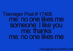 I don't say it again lol but this does happen...usually Lexi or Sammi are the ones who say they like me...