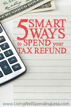 Will you be receiving money back from Uncle Sam this year? While you may be tempted to splurge, being strategic with your refund can help set you up for long-term financial success. Before you blow it, check out these five smart ways to spend your tax refund!