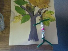 How about this great activity idea? Read the wonderful Stick Man by Julia Donaldson, and then make Stick Man and his family! You can teach your little ones about the environment and trees at the same time!