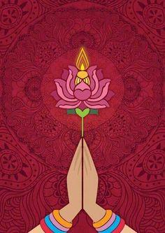 self initiated poster design for diwali - Laura Rankin - Hotel Buddha Kunst, Buddha Art, Buddha Logo, Diwali Poster, Yoga Kunst, Yoga Studio Design, Poster Design, Yoga Art, Art Graphique