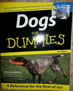 Dogs for Dummies by Gina Spadafori 2001 Paperback $7.98 Free Shipping