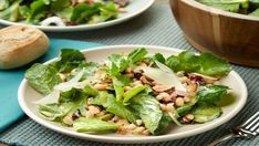 Ham, White Bean and Kale Salad recipe from Food Network Kitchen. Food Network Uk, Food Network Recipes, Healthy Family Dinners, Quick Easy Meals, Easy Dinners, Bean Recipes, Healthy Recipes, Healthy Foods, Yummy Recipes
