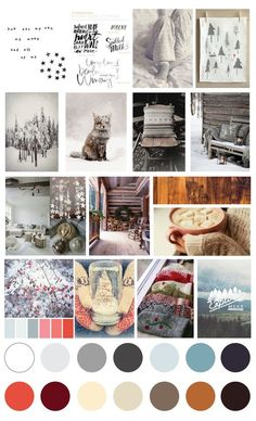Inspired layouts using our January Moodboard