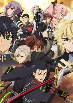 [VIDEO] Seraph of the End season 2 gets English-subtitled PV - http://sgcafe.com/2015/09/video-seraph-end-season-2-gets-english-subtitled-pv/