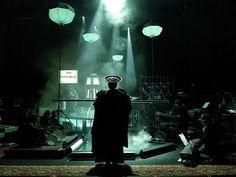 delusioin of the fury, Heiner Goebbels, Klaus Grünberg2013 Delusion of the Fury Harry Partch Regie: Heiner Goebbels Bühnenbild und Licht: Klaus Grünberg Kostüme: Florence von Gerkan Ruhrtriennale 2012 – 2014
