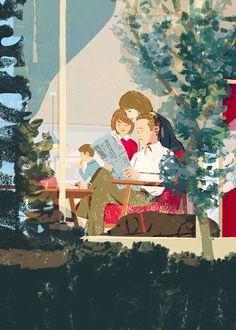 Style Asahi illustration by Tatsuro Kiuchi