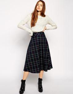 19 Ways to Wear Midi Skirts This Season | Brit + Co