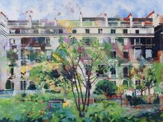 Louis Turpin's AUTUMN, CLEVELAND SQUARE at the RA Summer Exhibition 2015