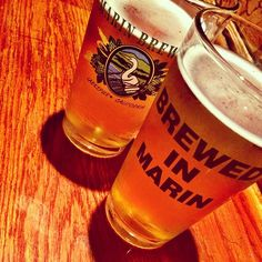 Enjoy a pint at Marin Brewing Company