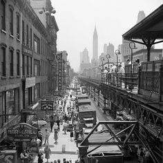 This picture was taken in New York 1953, by a nanny who recently passed away in 2009