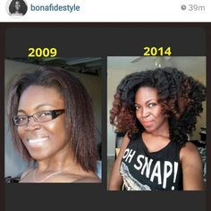 No More Relaxer and POW!!!!