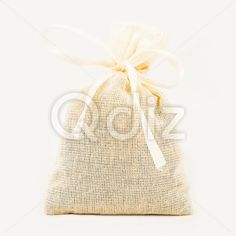 Qdiz Stock Photos | Textile sachet pouch,  #background #bag #bow #burlap #cloth #container #craft #decoration #decorative #fabric #filled #gift #handmade #homemade #isolated #material #package #packaging #packet #poke #pouch #present #ribbon #sac #sachet #sack #small #sparse #textile #white