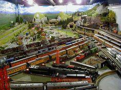 Trenes modelo 18'x30 escala O