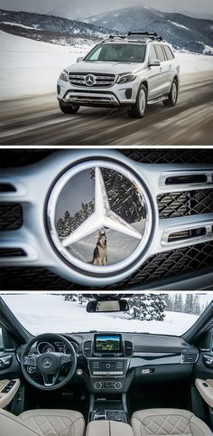 Ready for a real adventure? Join Loki the Wolfdog & Trent Bona on the road with the Mercedes-Benz GLS. via Mercedes-Benz USA (Cool Mom Vehicles) New Audi Car, Audi Cars, Mercedes Benz Suv, New Car Accessories, Classic Mercedes, Luxury Suv, Disney Cars, Sport Cars, Dream Cars
