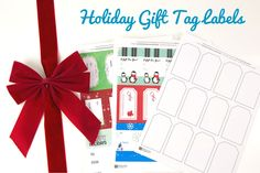 We're including free blank gift tag labels with every order of sheets purchased from November 16th - November 30th. Click to see how you can get yours and some free printable templates along with it!