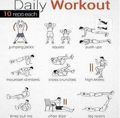 Resultado de imagem para plano de exercicio fisico diario