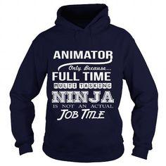 ANIMATOR-ninja T Shirts, Hoodies Sweatshirts. Check price ==► https://www.sunfrog.com/LifeStyle/ANIMATOR-ninja-Navy-Blue-Hoodie.html?57074