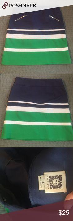 Anne Klein Skirt So cute for summer! New never worn. No tags. Anne Klein Skirts Mini