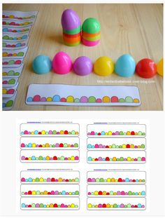 Color game with Easter eggs Easter Dyi, April Easter, Easter 2020, Easter Party, Easter Eggs, Christmas Activities For Toddlers, Kids Learning Activities, Easter Activities, Preschool Activities