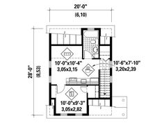 2nd Floor Plan, 072G-0033