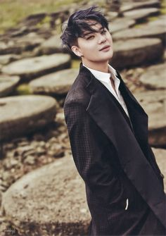 "Junsu Baby for ""The JYJ"" Magazine ❤️ JYJ Hearts"