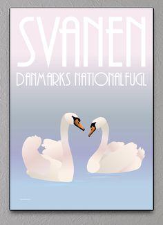 svane plakat svaneplakat swan poster swanposter svaner
