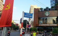 I have always loved contradictions. Old meets new east meets west slow meets fast. Today Ho Chi Minh offered me a new one: Communism meets Starbucks #vietnam #vietnamtravel #travelvietnam #travel #asia #southeastasia #communism #communist #capitalist #starbucks #coffee #explore #saigon #hochiminh #hcmc #instatravel