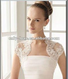 Sweet Short Lace Wedding Bolero Wb058 - Buy Lace Wedding Bolero,Bridal Wedding Bolero,Wedding Jacket Bolero Product on Alibaba.com