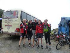 Misty on top of Tram Ton Pass, Hanoi to Laos Mountain Bike Epic, Vietnam, with KE Adventure Travel, https://www.keadventure.com/holidays/vietnam-laos-cycling-sapa