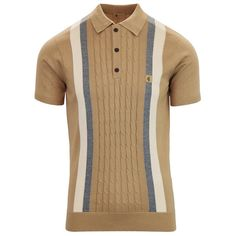 Retro Outfits, Sport Outfits, Cool Outfits, Casual Outfits, Striped Polo Shirt, Striped Knit, Mod Fashion, Urban Fashion, Best Polo Shirts