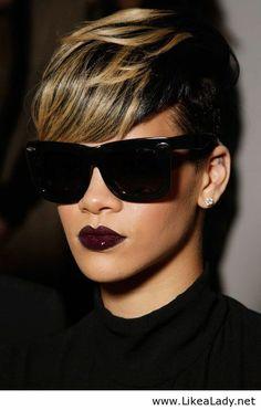 Rihanna lady look