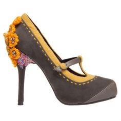 Irregular Choice | Womens | Poetic License | Poetic Licence Famous Floral - StyleSays