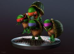 This is awesome!!! ninja turtles | 3D Teenage Mutant Ninja Turtles [PIC]