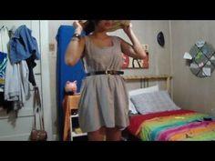 DIY super cute dress in 5 secs!
