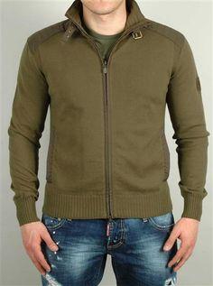 BELSTAFF cardigan 715370 COT12 Verde