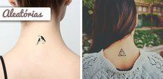 As mais lindas fotos e modelos de tatuagens femininas delicadas para tatuar! Encontre uma tatuagem feminina perfeita para você! Tendências 2016. Veja!