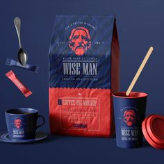 This pack comes with everything you need to launch your own coffee brand, from paper coffee bag, sugar packs, stickers, paper cups and more...
