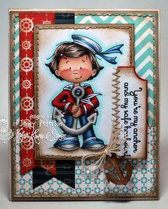 Jenny Peterson: My Little Stampin' Spot: {KKS} Ships Ahoy! - 8/30/14 (Kraftin' Kimme Stamps: Ahoy, Sailor!)