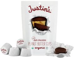 Justin's Organic Mini Peanut Butter Cups $1.00 Off With Printable Coupon!