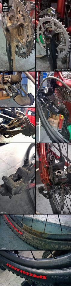Example and before and after of premium service Before And After Pictures, Sci Fi, Bike, Bicycle, Science Fiction, Trial Bike, Bicycles