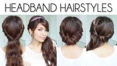 Easy Everyday Headband Hairstyles