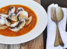 Food e Mag dxb Issue 2 - Spring vegetable recipes -  tomato and Clam Soup